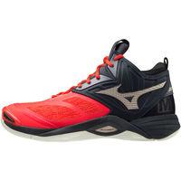 Obuća Muškarci  Multisport Mizuno Chaussures  Wave Momentum 2 Mid rouge/or/noir