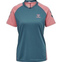 Odjeća Djeca Majice / Polo majice Hummel Maillot d'entrainement enfant  hmlACTION bleu/rose