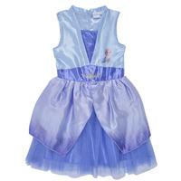 Odjeća Djevojčica Kratke haljine TEAM HEROES  FROZEN DRESS Blue