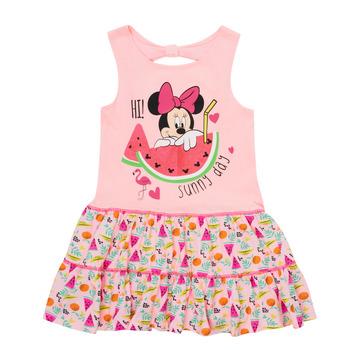Odjeća Djevojčica Kratke haljine TEAM HEROES  MINNIE DRESS Ružičasta