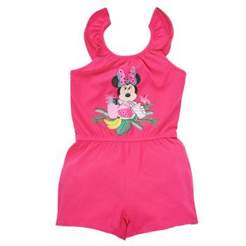 Odjeća Djevojčica Kombinezoni i tregerice TEAM HEROES  MINNIE JUMPSUIT Ružičasta