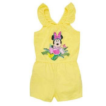 Odjeća Djevojčica Kombinezoni i tregerice TEAM HEROES  MINNIE JUMPSUIT Žuta