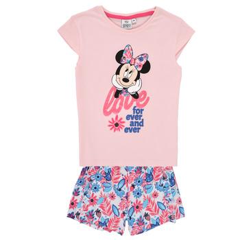 Odjeća Djevojčica Dječji kompleti TEAM HEROES  MINNIE SET Ružičasta