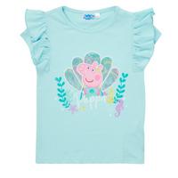 Odjeća Djevojčica Majice kratkih rukava TEAM HEROES  PEPPA PIG TEE Blue