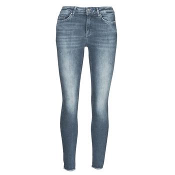 Odjeća Žene  Slim traperice Only ONLBLUSH Blue / Siva