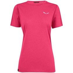 Odjeća Žene  Majice kratkih rukava Salewa Pedroc 3 Dry W Ružičasta