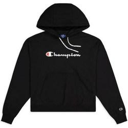 Odjeća Žene  Sportske majice Champion Hooded Sweatshirt Nbk Crna