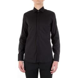 Odjeća Muškarci  Košulje dugih rukava Manuel Ritz 3030E651-213229 Nero