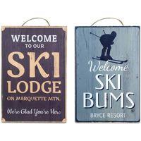 Dom Slike i platna Signes Grimalt Zid Ploča Ski 2. Rujna U Multicolor