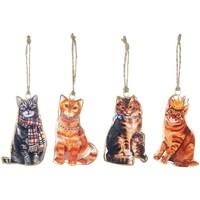 Dom Prigodni ukrasi Signes Grimalt Mačka Visi Na 4. Rujna U Multicolor