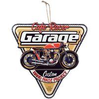 Dom Slike i platna Signes Grimalt Zidna ploča trokuta motocikla Multicolor