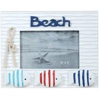 Dom Okviri za slike Signes Grimalt Okvir za fotografije s ribom na plaži Multicolor