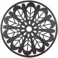Dom Slike i platna Signes Grimalt Mandala zidni ukras Negro