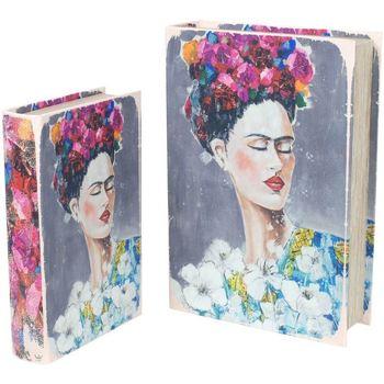 Dom Sanduci i kovčezi Signes Grimalt Kutije za knjige Frida SET 2U Multicolor