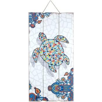 Dom Slike i platna Signes Grimalt Zidna ploča kornjače Multicolor