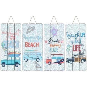 Dom Slike i platna Signes Grimalt Zid Ploča Surf 4 Dif. Multicolor