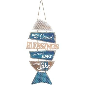 Dom Slike i platna Signes Grimalt Zid Viseći Ornament Fish Azul