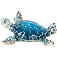 Dom Dekorativni predmeti  Signes Grimalt Mala smolasta kornjača Azul