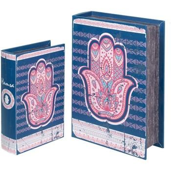 Dom Sanduci i kovčezi Signes Grimalt Fatimske kutije za knjige 2U Azul
