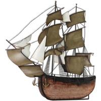 Dom Dekorativni predmeti  Signes Grimalt Zidni ukras brodske galeone Multicolor