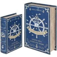 Dom Sanduci i kovčezi Signes Grimalt Kutije za knjige kormila SET 2U Azul