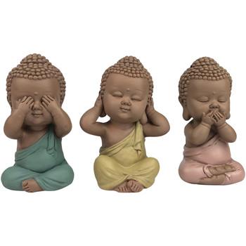 Dom Dekorativni predmeti  Signes Grimalt Linda Buddha SET 3 jedinice Multicolor