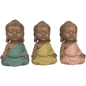 Dom Dekorativni predmeti  Signes Grimalt Linda Buddha Rujan 3 Jedinice Multicolor