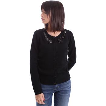 Odjeća Žene  Veste i kardigani Animagemella 17AI060 Crno