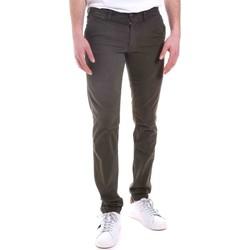 Odjeća Muškarci  Chino hlačei hlače mrkva kroja Gaudi 021GU25014 Zelena