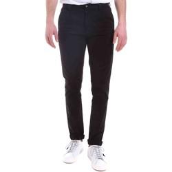 Odjeća Muškarci  Chino hlačei hlače mrkva kroja Gaudi 021GU25014 Crno