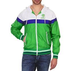 Odjeća Muškarci  Kratke jakne Franklin & Marshall MELBOURNE Green / White / Blue