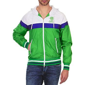 Odjeća Muškarci  Kratke jakne Franklin & Marshall MELBOURNE Zelena / Bijela / Blue