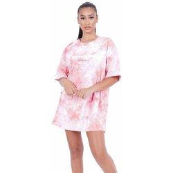 Odjeća Žene  Kratke haljine Sixth June Robe femme  Tie and dye rose