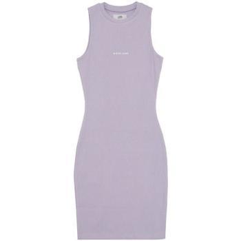 Odjeća Žene  Kratke haljine Sixth June Robe femme  Rib Essential bleu lila