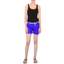 Odjeća Žene  Bermude i kratke hlače Franklin & Marshall CALOUNDRA Blue