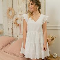 Odjeća Žene  Kratke haljine Céleste DAHLIA Bijela