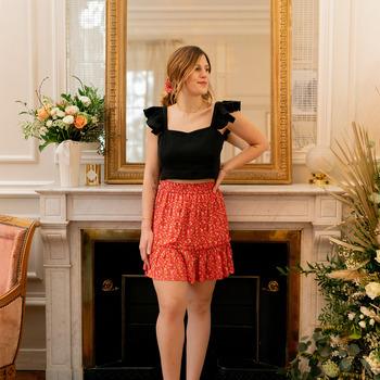 Odjeća Žene  Suknje Céleste AZALEE Red / Multicolour
