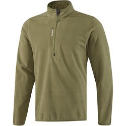 Odjeća Muškarci  Gornji dijelovi trenirke Reebok Sport Fitness Outdoor Fleece Quarter Zip Zelena