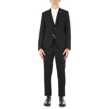 Odjeća Muškarci  Odijela Manuel Ritz 3032A3109-213044 Nero