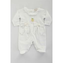 Odjeća Djevojčica Dvodijelne trenirke Lalalu TBL07E Bianco