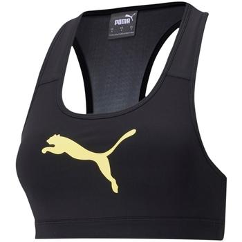 Odjeća Žene  Sportski grudnjaci Puma Mid Impact Crno