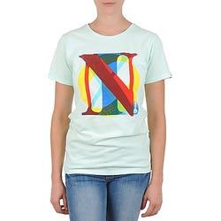 Odjeća Žene  Majice kratkih rukava Nixon PACIFIC Zelena