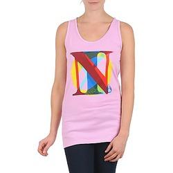 Odjeća Žene  Majice s naramenicama i majice bez rukava Nixon PACIFIC TANK Ružičasta / Multicolour