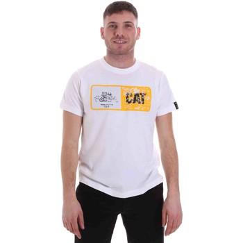 Odjeća Muškarci  Majice kratkih rukava Caterpillar 35CC302 Bijela