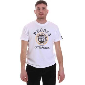 Odjeća Muškarci  Majice kratkih rukava Caterpillar 35CC301 Bijela