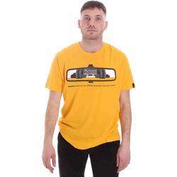 Odjeća Muškarci  Majice kratkih rukava Caterpillar 35CC2510234 Žuta boja