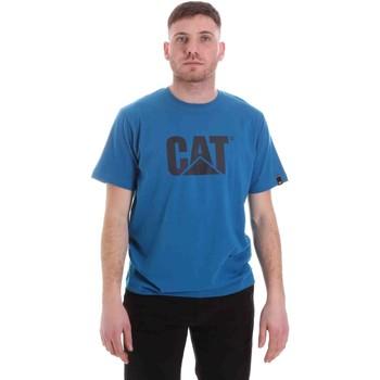 Odjeća Muškarci  Majice kratkih rukava Caterpillar 35CC2510150 Plava