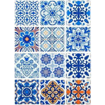Dom Dekorativni predmeti  Signes Grimalt Hidraulični Magnetska 12U Azul