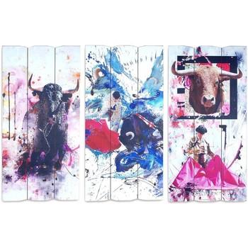 Dom Slike i platna Signes Grimalt Zidni ukras Sigris SET 3U Multicolor