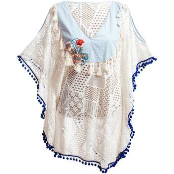 Odjeća Žene  Parei Isla Bonita By Sigris Pončo Blanco